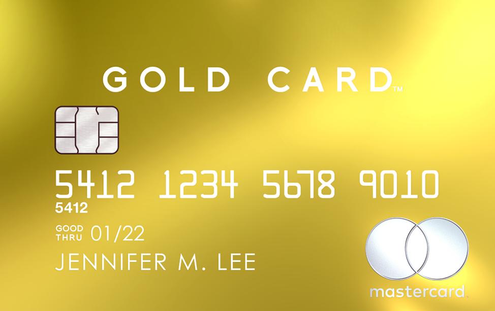 Luxury Card | Mastercard Gold Card