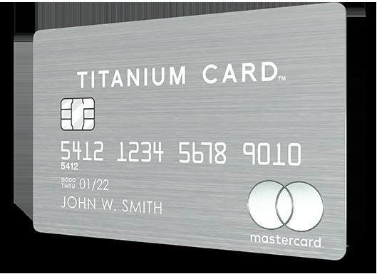 Luxury Card | Mastercard Titanium Card